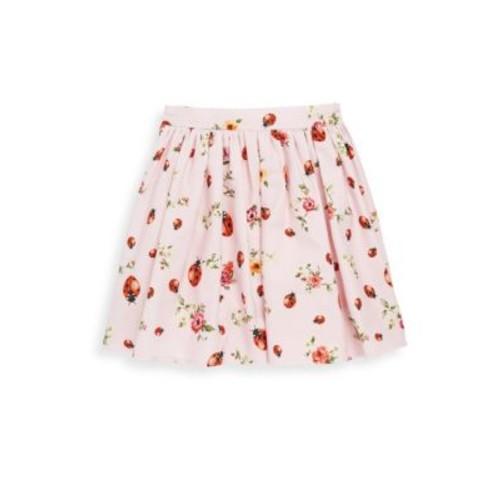 DOLCE & GABBANA Ladybug Pleated Skirt