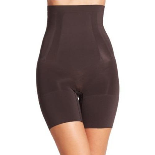 Oncore High-Waist Mid-Thigh Shorts