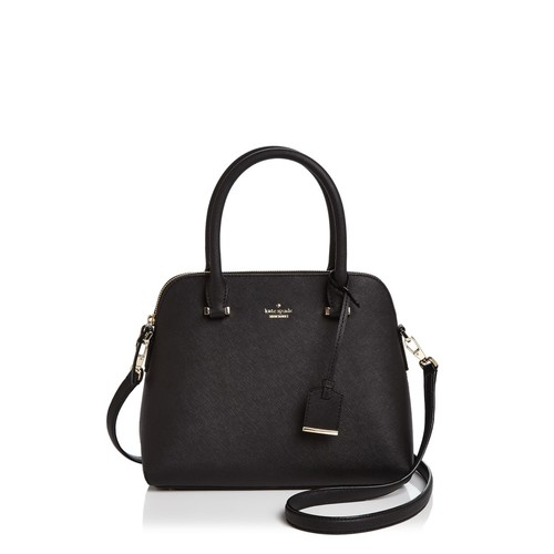 KATE SPADE NEW YORK Jackson Street Maise Saffiano Leather Satchel