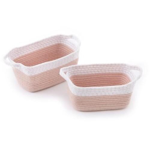 Levtex Baby Dandelion Rope Storage Baskets (Set of 2)