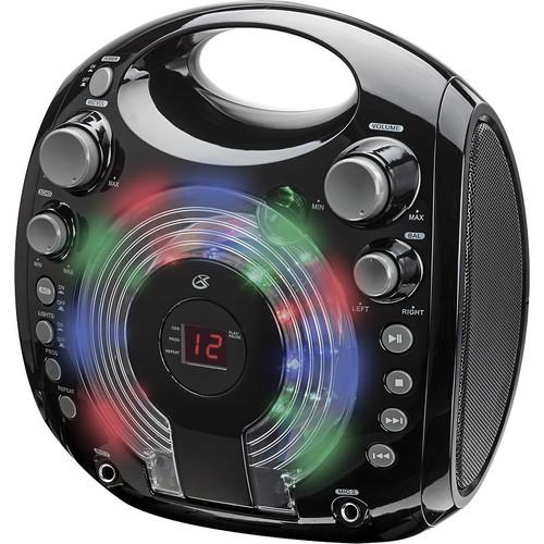 GPX - CD+G Karaoke System - Black