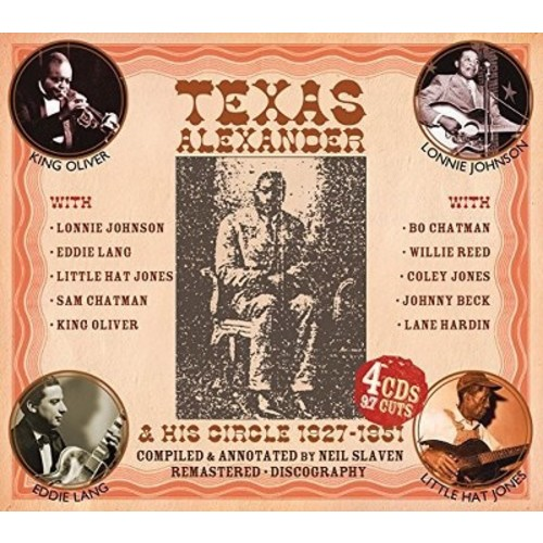 Texas Alexander - Authentic Early Texas Country Blues:2 (CD)