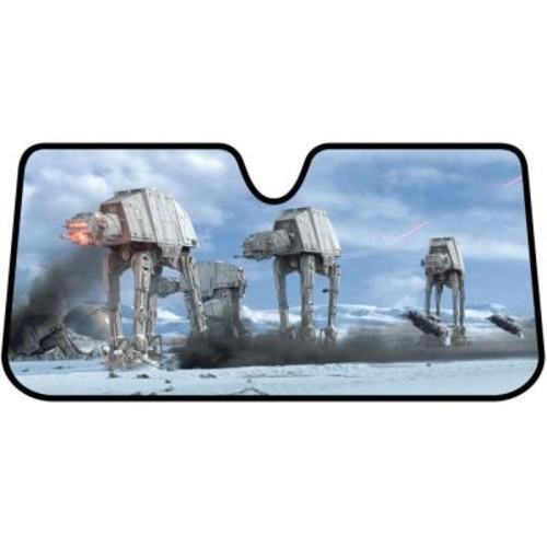 Star Wars Hoth Scene Accordion Windshield Sunshade