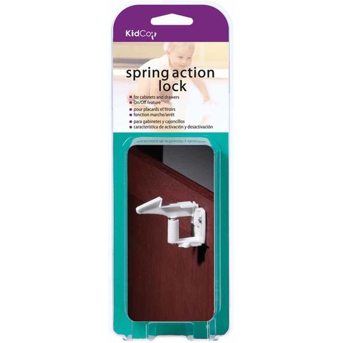 KidCo Spring Action Cabinet Lock 4-pack [4]