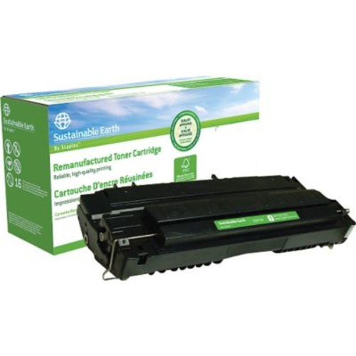 Sustainable Earth by Staples Remanufactured Black Toner Cartridge, Canon FX-4 (1558A002AA)