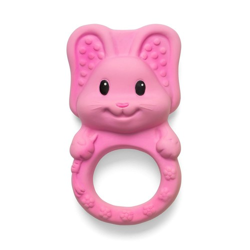 Infantino Squeeze and Teethe Textured Pal Teether - Bunny