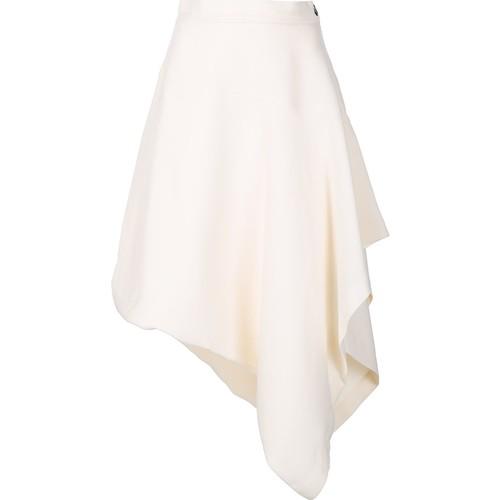 J.W.ANDERSON Side Zip Asymmetric Skirt