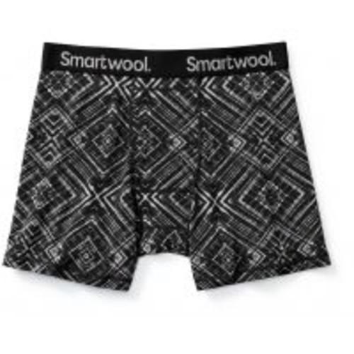Smartwool Merino 150 Printed Boxer Brief - Men's [Mens Clothing Size : Large; Waist Size : Range 38 - 40 in]