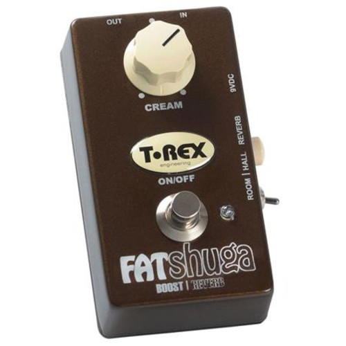 T-Rex Engineering Fat-Shuga Boost/Reverb Pedal FAT-SHUGA