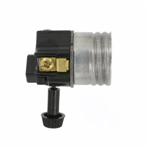 Leviton 10083-M Incandescent Lampholder, 250W-250V, Removable Turn-Knob Electrolier