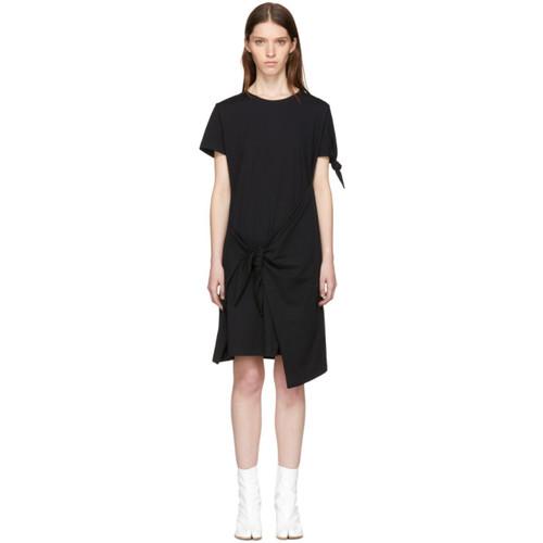 J.W. ANDERSON Black Knot T-Shirt Dress