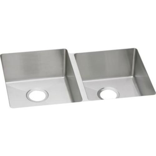 Elkay Avado 31.25'' x 20.5'' Stainless Steel Double Bowl Undermount Kitchen Sink