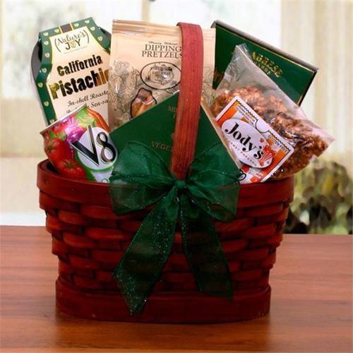 Mini Healthy Snacks Gift Basket