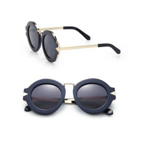 Maze 47MM Round Sunglasses