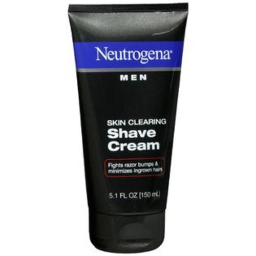Neutrogena Men Shave Cream Skin Clearing, 5.1 OZ