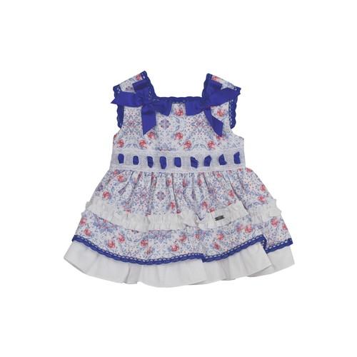 Blue Dress & Nappy