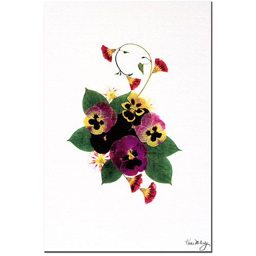 Kathie McCurdy 'Frivolity' Gallery-wrapped Canvas