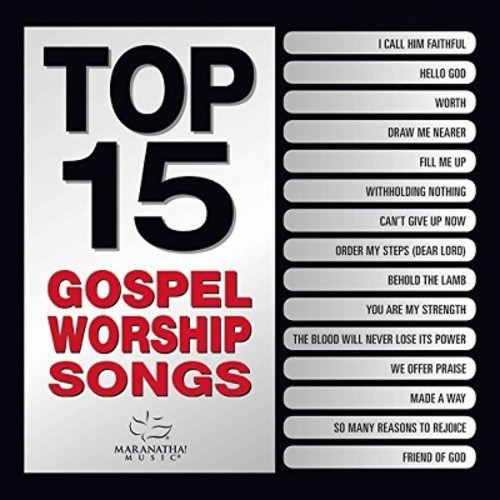 Various - Top 15 Gospel Worship Songs (CD)