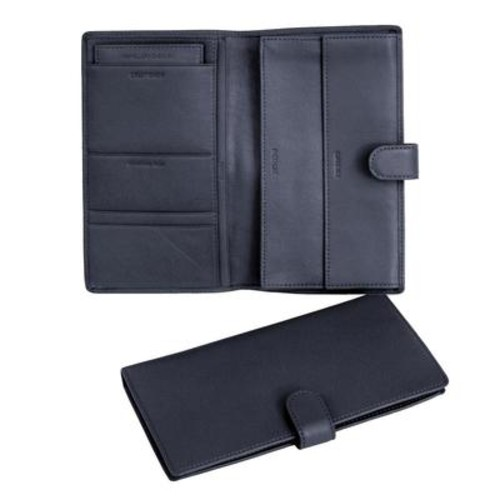 Personalized Royce Leather International Passport and Travel Document Case