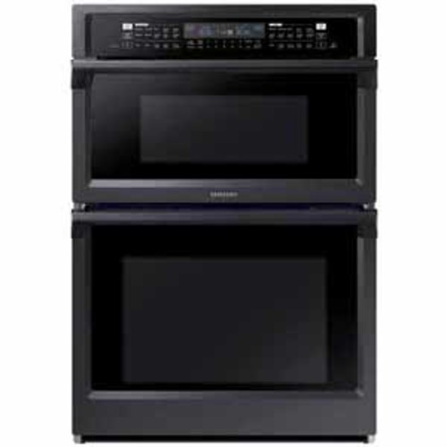 Samsung 30 Combination Microwave Wall Oven - Black Stainless Steel