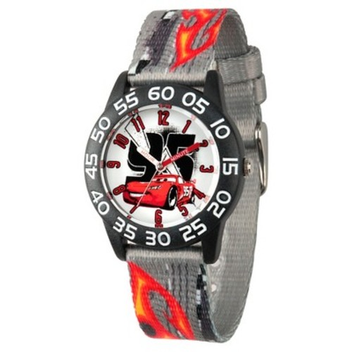 Kids Disney Cars Lightning McQueen Watches Gray
