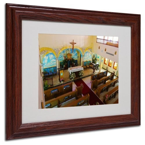 Virgin Islands Canvas Wall Art by CATeyes, Wood Frame, 11 by 14-Inch [11 by 14-Inch]