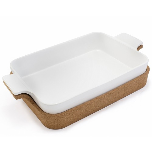 Bambeco Ensemble Collection Square Baker with Cork Tray