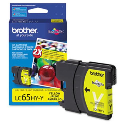 Brother LC65HYY Innobella High-Yield Ink Yellow