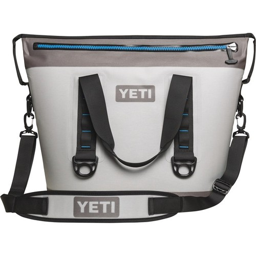 Yeti Hopper Two Cooler  Fog Gray, 25in.L x 12in.W x 18in.H