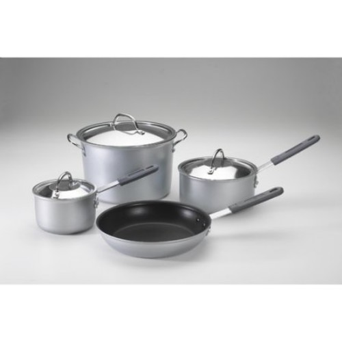 Nordic Ware 7-Piece Silver Cookware Set with Lids