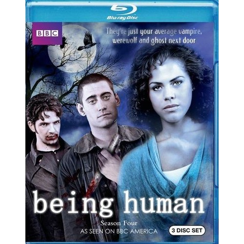 Being Human: Season Four [3 Discs] [Blu-ray]