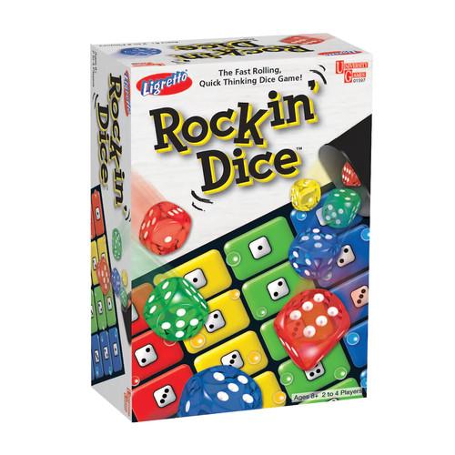University Games Ligretto Rockin' Dice