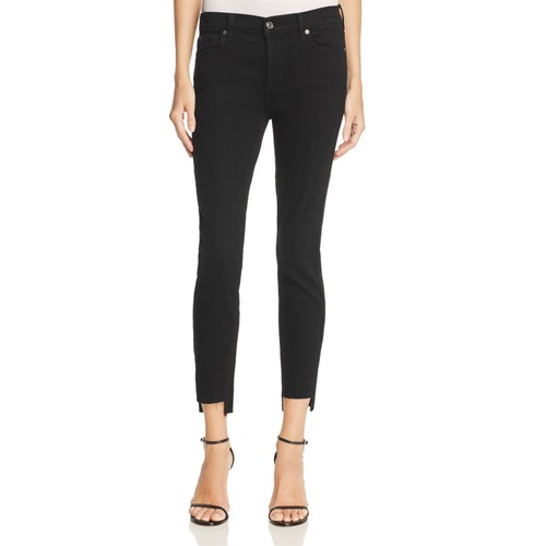 Ankle Skinny Jeans in Overdyed Black  100% Exclusive