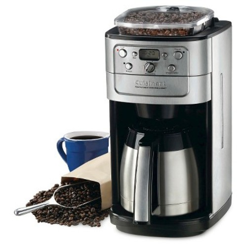 Cuisinart Grind & Brew 12 Cup Coffee Maker - Brushed Chrome DGB-900BC