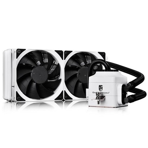 DEEPCOOL CAPTAIN 240 Extreme Performance AIO Liquid CPU Cooler(AM4 Available), White