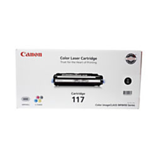 Canon 117, Black Toner Cartridge (2578B001AA)