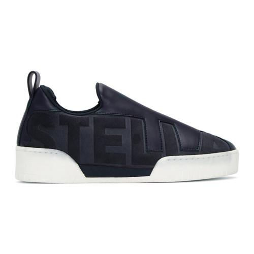 STELLA MCCARTNEY Navy 'Stella' Slip-On Sneakers
