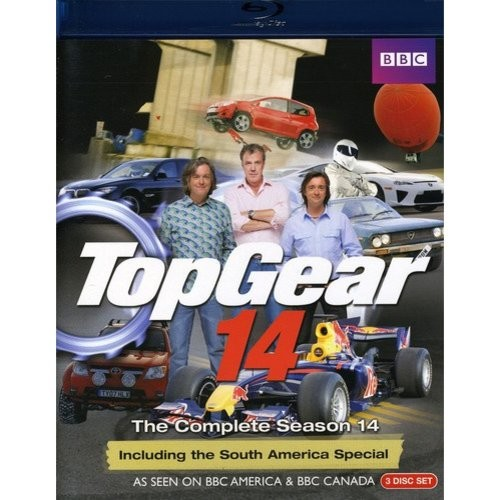 Top Gear: The Complete Season 14 [3 Discs] [Blu-ray]