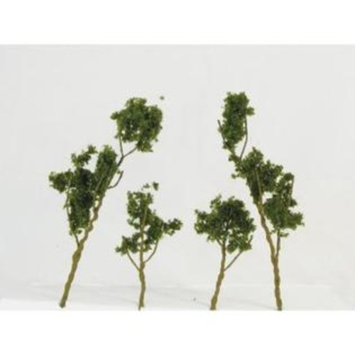 Simi Creative Products WS00309 Architectural Model Foliage Tree Medium Green 24-pack