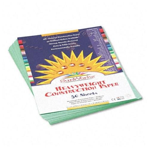 Pacon SunWorks Groundwood Construction Paper - Multipurpose - 9