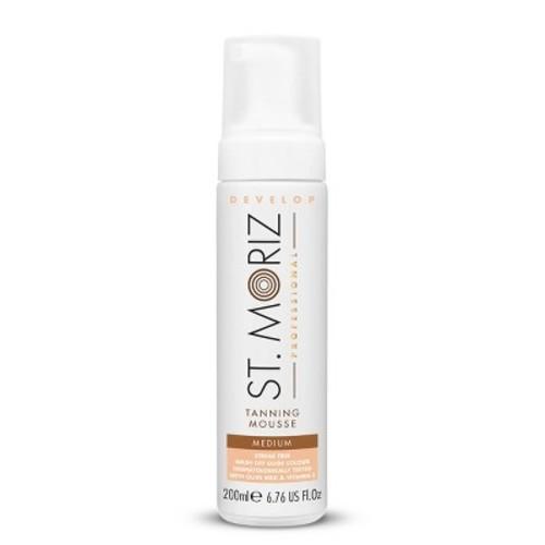 St. Moriz Instant Self Tanning Mousse Medium - 200ml