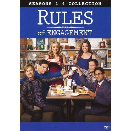 Rules of Engagement: Seasons 1-4 [DVD]