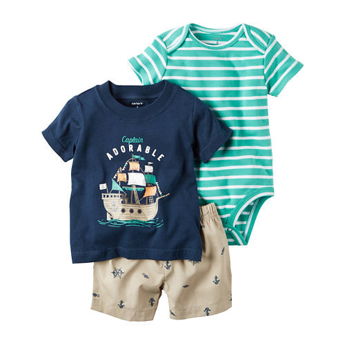 Carter's Short Set Baby Boys - JCPenney