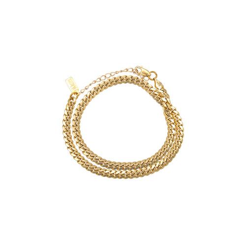 mini link wrap bracelet