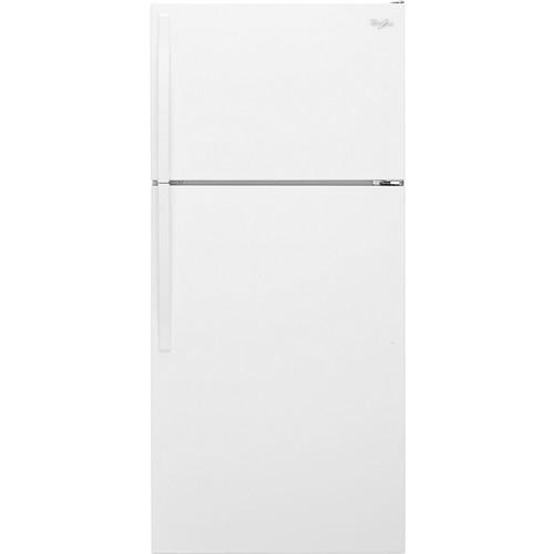 Whirlpool - 14.3 Cu. Ft. Top-Freezer Refrigerator - White