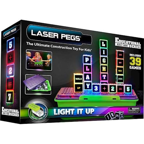 LASER PEGS - Educational Learning Construction Set