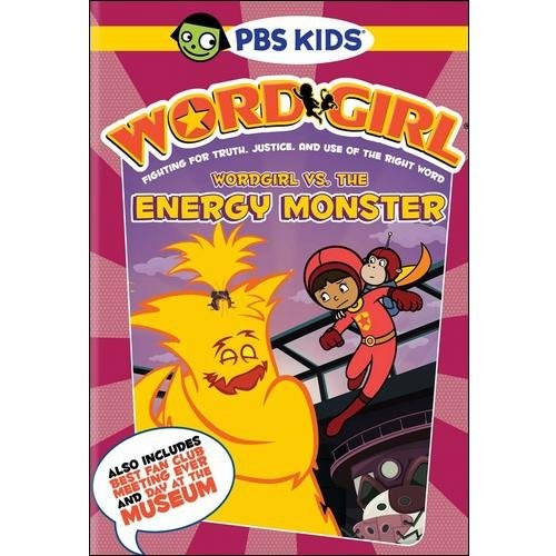 Wordgirl vs. Energy Monster