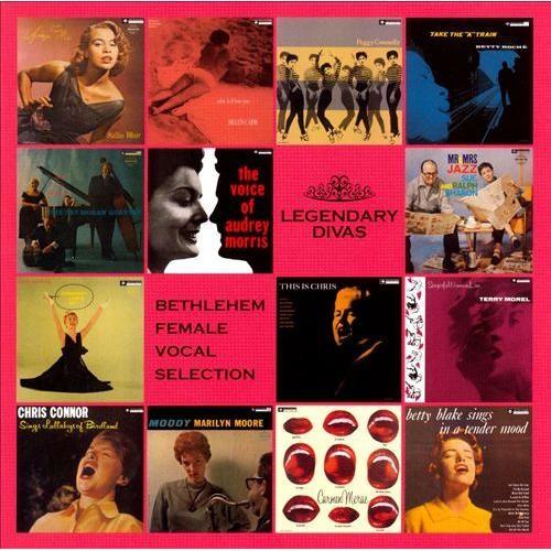 Legendary Divas: Bethlehem Female Vocal Selection [CD]