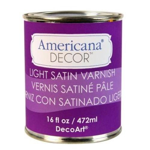 DecoArt Americana Decor 16 oz. Light Satin Varnish