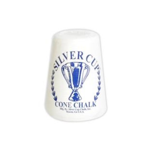 Hathaway Hathaway Silver Cup Cone Talc Chalk, White